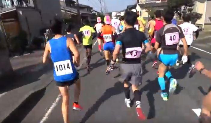 あいの土山マラソンのエントリーとコース、高低差や関門 ...